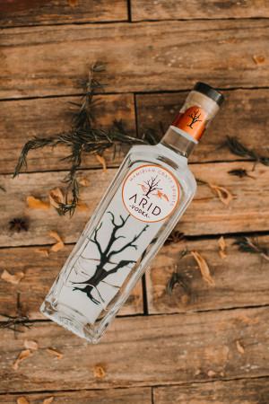 Arid Namibian Vodka
